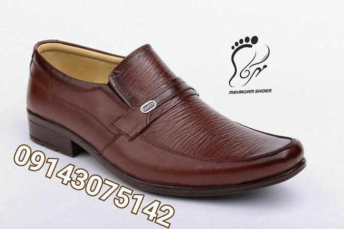 کفش مجلسی و رسمی مردانه چرم