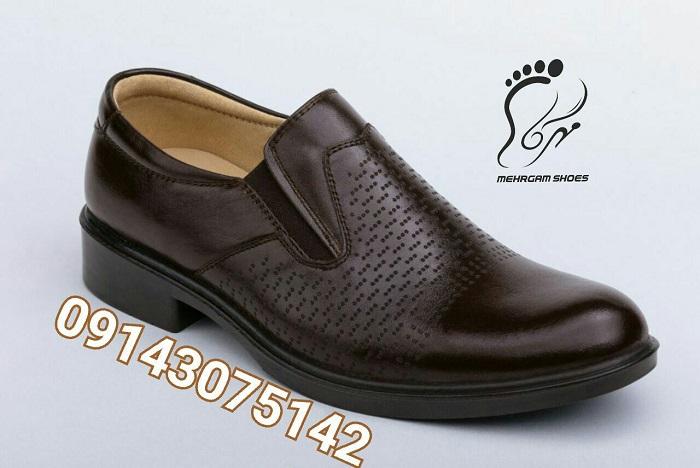 تولید کفش مردانه چرم تبریز