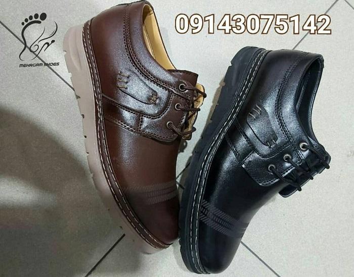 خرید کفش چرم مردانه با قیمت مناسب از تولیدی