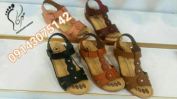 تولیدی کفش و صندل تابستانی زنانه